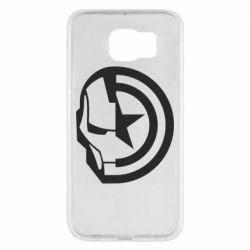 Чохол для Samsung S6 Iron Man and Captain America