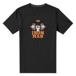 Чоловіча стрейчева футболка Iron man and sports