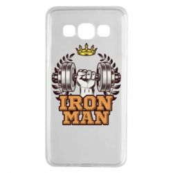 Чохол для Samsung A3 2015 Iron man and sports