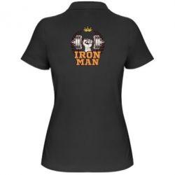 Жіноча футболка поло Iron man and sports