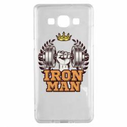 Чохол для Samsung A5 2015 Iron man and sports