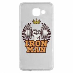 Чохол для Samsung A5 2016 Iron man and sports