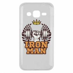 Чохол для Samsung J2 2015 Iron man and sports