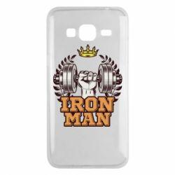 Чохол для Samsung J3 2016 Iron man and sports