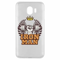 Чохол для Samsung J4 Iron man and sports