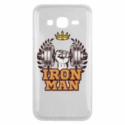 Чохол для Samsung J5 2015 Iron man and sports
