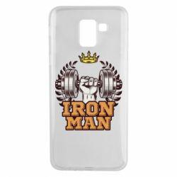 Чохол для Samsung J6 Iron man and sports