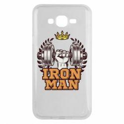 Чохол для Samsung J7 2015 Iron man and sports
