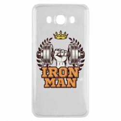 Чохол для Samsung J7 2016 Iron man and sports