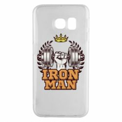 Чохол для Samsung S6 EDGE Iron man and sports