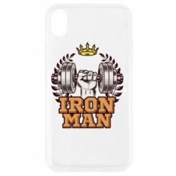 Чохол для iPhone XR Iron man and sports