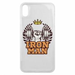 Чохол для iPhone Xs Max Iron man and sports