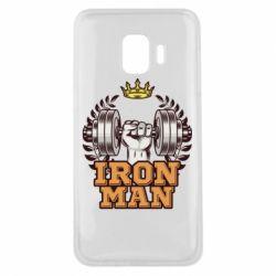 Чохол для Samsung J2 Core Iron man and sports