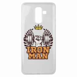 Чохол для Samsung J8 2018 Iron man and sports