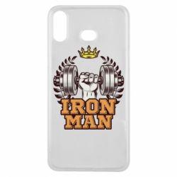 Чохол для Samsung A6s Iron man and sports