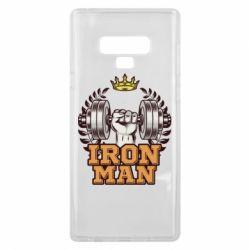 Чохол для Samsung Note 9 Iron man and sports