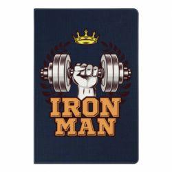 Блокнот А5 Iron man and sports