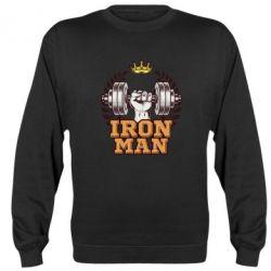 Реглан (світшот) Iron man and sports