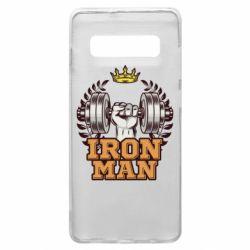 Чохол для Samsung S10+ Iron man and sports