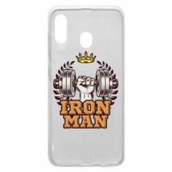 Чохол для Samsung A20 Iron man and sports