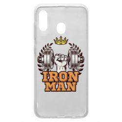 Чохол для Samsung A30 Iron man and sports
