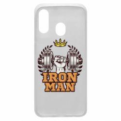 Чохол для Samsung A40 Iron man and sports