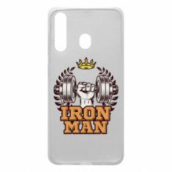 Чохол для Samsung A60 Iron man and sports