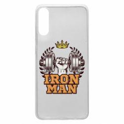 Чохол для Samsung A70 Iron man and sports