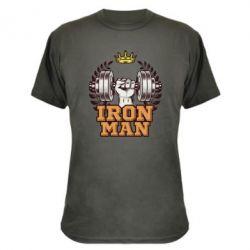 Камуфляжна футболка Iron man and sports
