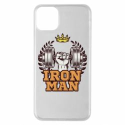 Чохол для iPhone 11 Pro Max Iron man and sports