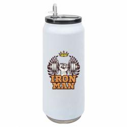 Термобанка 500ml Iron man and sports