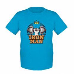 Дитяча футболка Iron man and sports