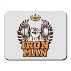 Килимок для миші Iron man and sports