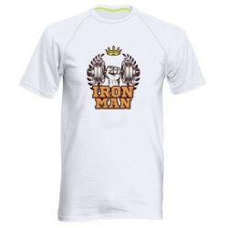 Чоловіча спортивна футболка Iron man and sports