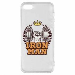 Чохол для iphone 5/5S/SE Iron man and sports
