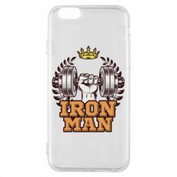 Чохол для iPhone 6/6S Iron man and sports
