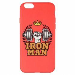 Чохол для iPhone 6 Plus/6S Plus Iron man and sports