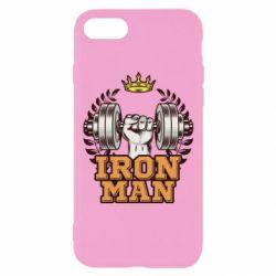 Чохол для iPhone 8 Iron man and sports