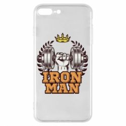 Чохол для iPhone 8 Plus Iron man and sports