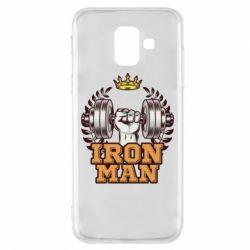 Чохол для Samsung A6 2018 Iron man and sports