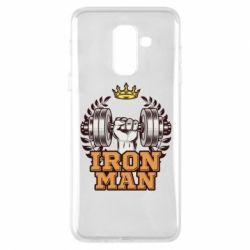 Чохол для Samsung A6+ 2018 Iron man and sports