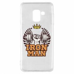 Чохол для Samsung A8 2018 Iron man and sports