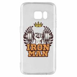 Чохол для Samsung S7 Iron man and sports