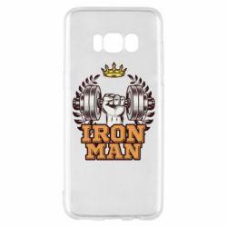 Чохол для Samsung S8 Iron man and sports