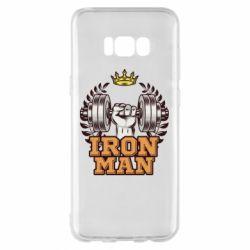 Чохол для Samsung S8+ Iron man and sports