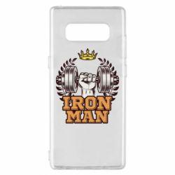 Чохол для Samsung Note 8 Iron man and sports