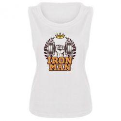 Майка жіноча Iron man and sports