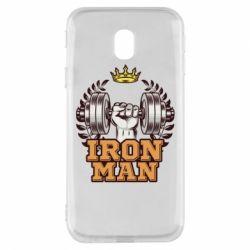 Чохол для Samsung J3 2017 Iron man and sports