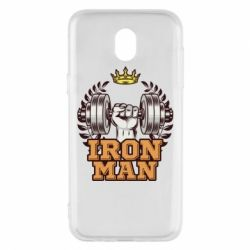 Чохол для Samsung J5 2017 Iron man and sports