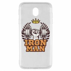 Чохол для Samsung J7 2017 Iron man and sports